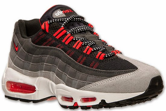 Nike Air Max \u002795 Wolf Grey/Chilling Red-Cool Grey June 2014