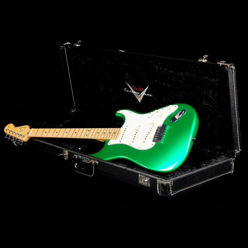 Fender CS Candy Apple Green Custom Classic Strat