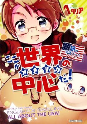 Hetalia Tabi no Kaiwa Book America Hen Koko ga Sekai no Chushin da Book