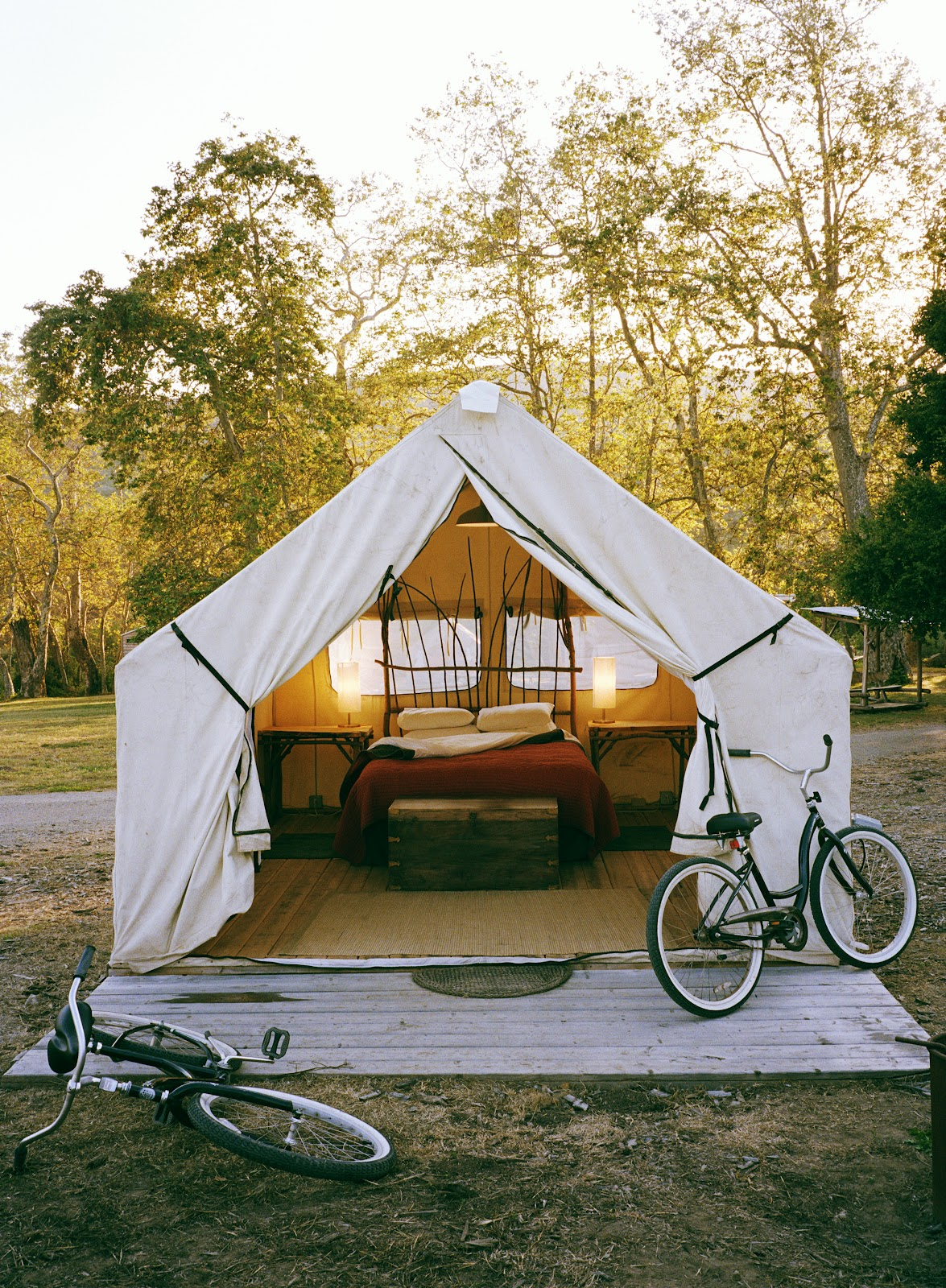 Anyone Can Decorate: Glamping - Putting A Bit of Glamour ...