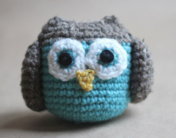 Amigurumi Owl Family : Repeat Crafter Me: Crochet Owl Family Amigurumi Pattern