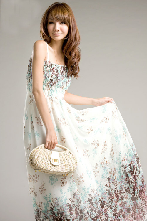 LONG DRESS WZ 2042 WHITE