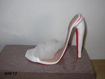 sko i sockerpasta steg för steg
