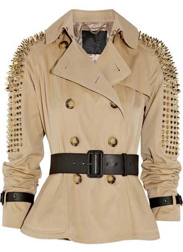Coverup By Selorm Diy Studded Trenchcoat