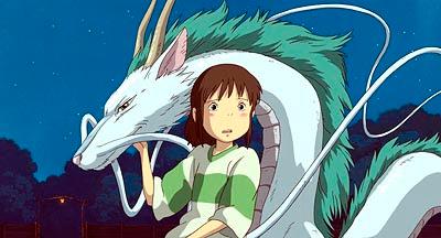 animação filme a viagem de chihiro