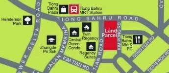 Highline Residences' Site at Kim Tian road, near Tiong Bahru MRT