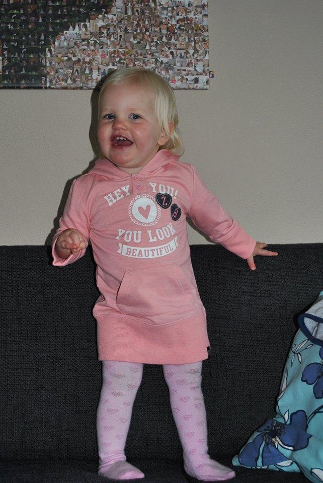 Esmée 16 maanden