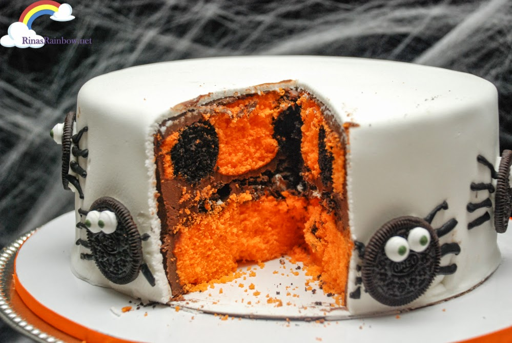 oreo halloween cake