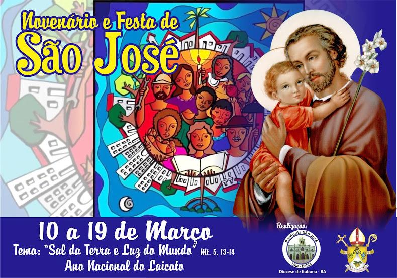Novenário e Festa de São José