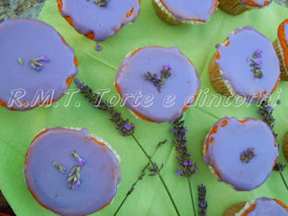 Cupcakes alla lavanda
