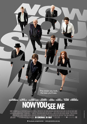 Now You See Me 2013 film movie poster large malaysia