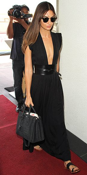 7 dias sete looks da modelo americana Lily Aldridge