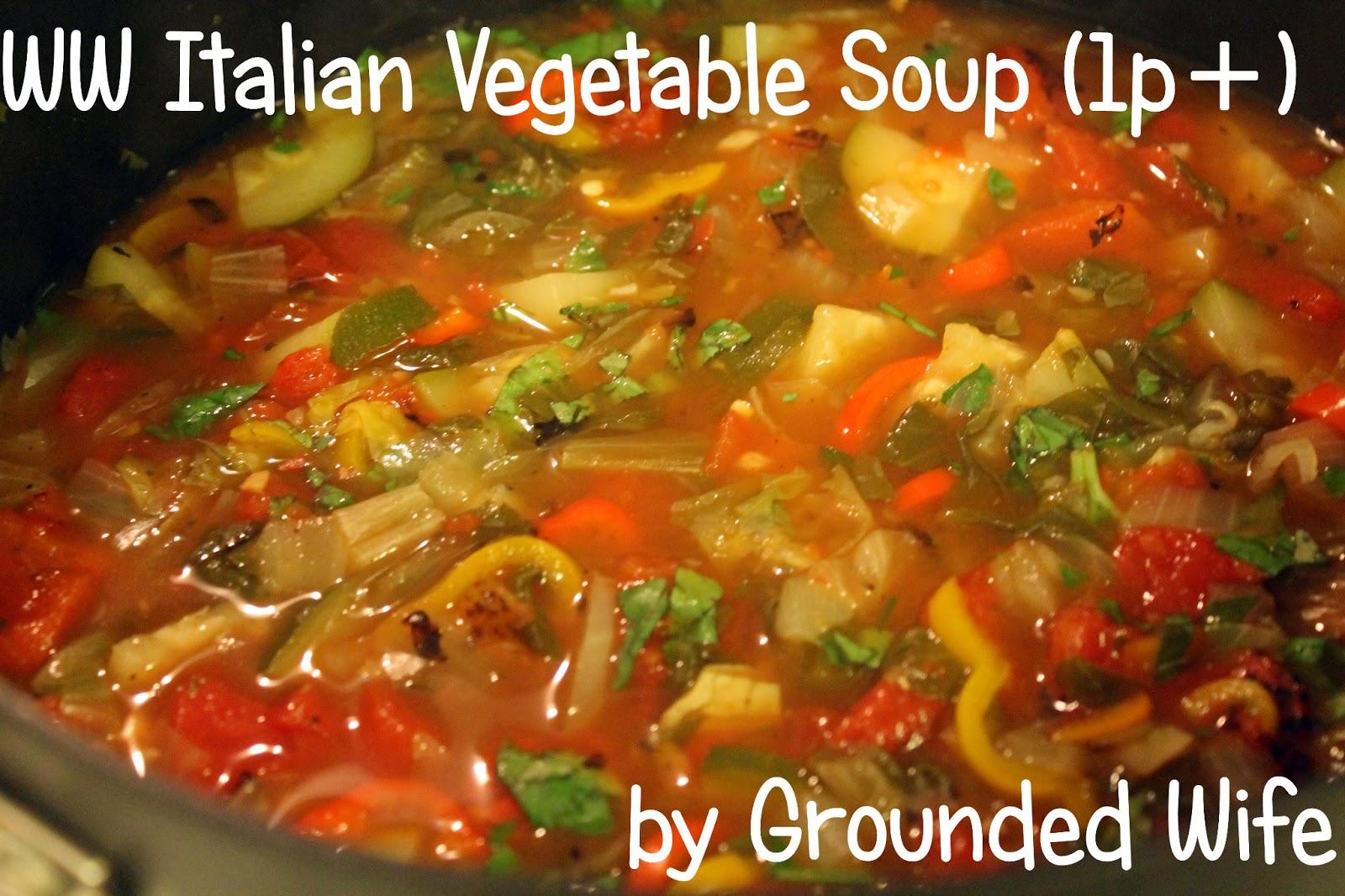 Vegetables italian wife loves them ma non troppo