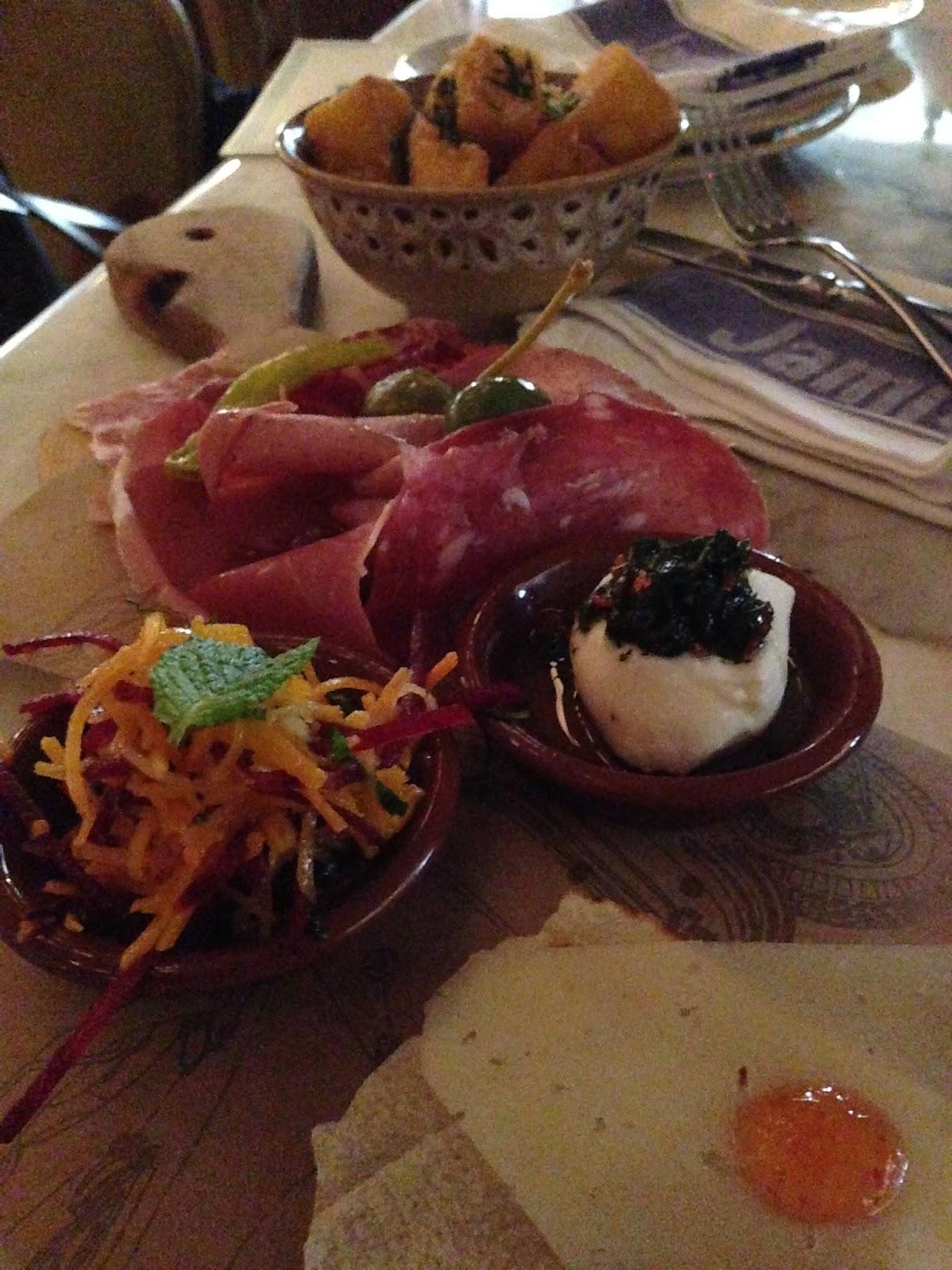 jamie's, italian, restaurant, bar, plank, antipasto, prosciutto, mortadella, meats, smallgoods, adelaide, food