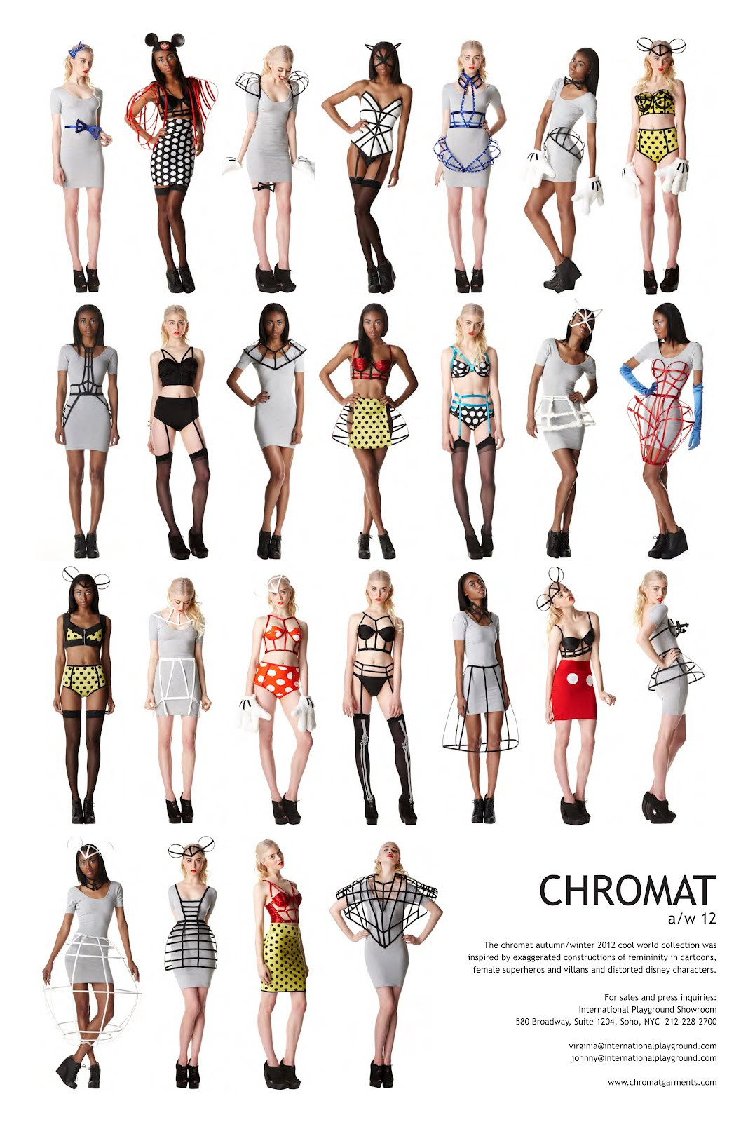 Autumn Winter 2012 Chromat Garments by Becca McCharen. &copy; Photo by Lauren Duques