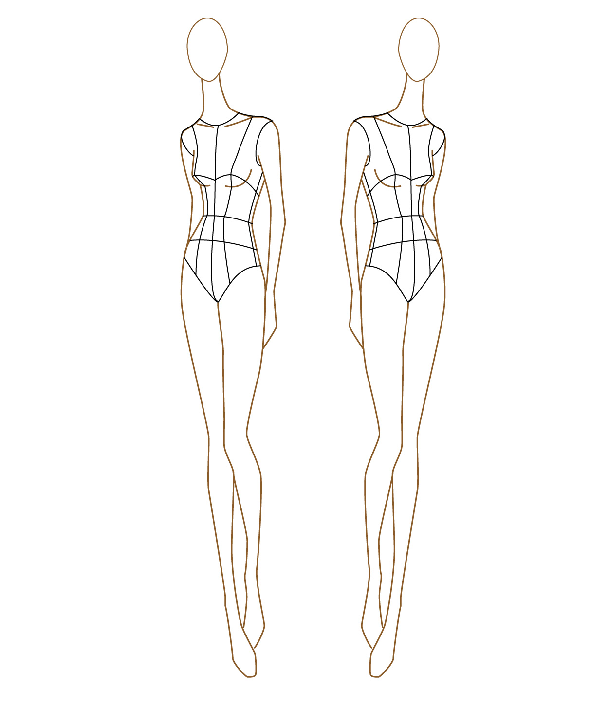 extraordinary outfit outline drawing kids