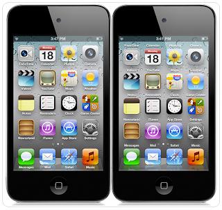 App inscription set over icon
