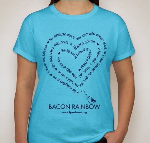 Order the Blue Bacon Rainbow Shirt