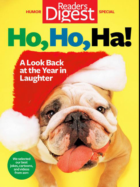 Reader's Digest Bulldog Cover