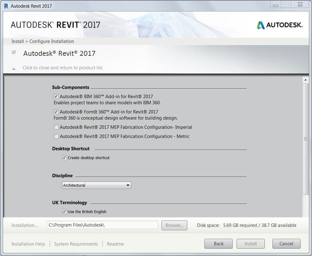 Revitcat  Revit 2017 Install Take 2