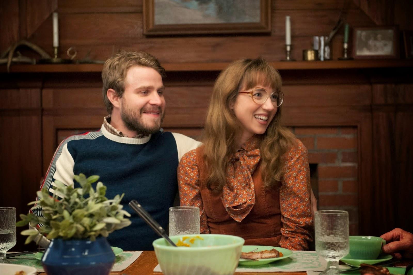 Brady Corbet y Zoe Kazan en una escena de Olive Kitteridge