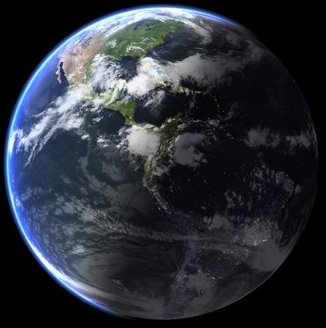 Solsticio de Verano desde el Espacio Exterior