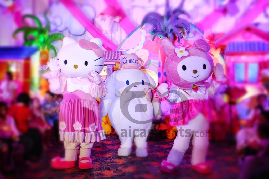 Aicaevents India: Hello Kitty Themed Birthday Party Decorations