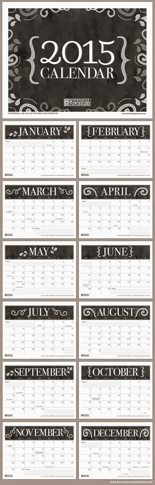 "... for ""Printable Canadian Calendar 2015 2 Month"" – Calendar 2015"