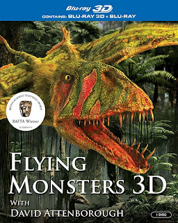 Thằn Lằn Bay Và David Attenborough - Flying Monsters 3d With David Attenborough