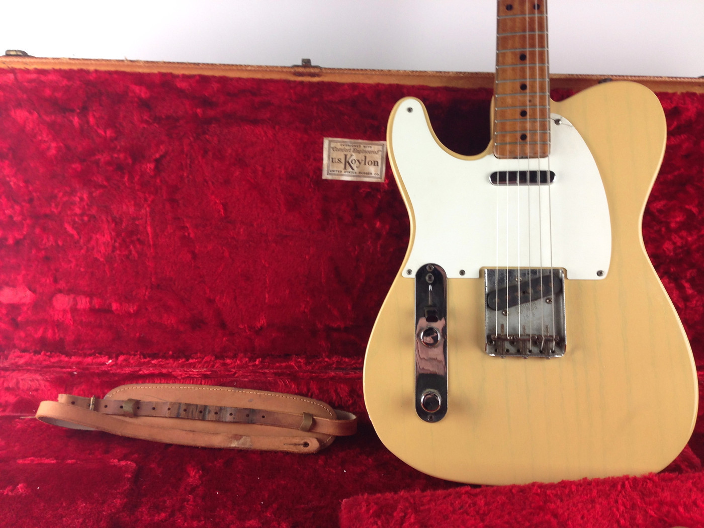 Vintage Guitarz May 2013 1965 Gibson Es345 Wiring Repair Chicago Fret Works Guitar Comments Rare And Cool Left Handed Mid 50s Fender Telecaster