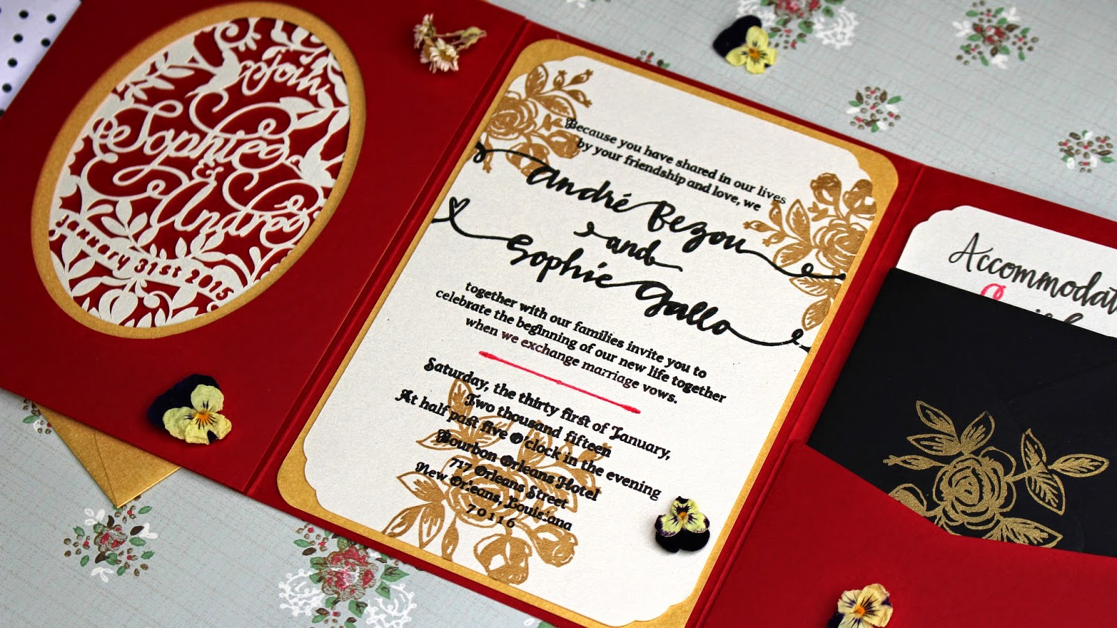 Sophie Gallo Design Blog: DIY Wedding Invitations