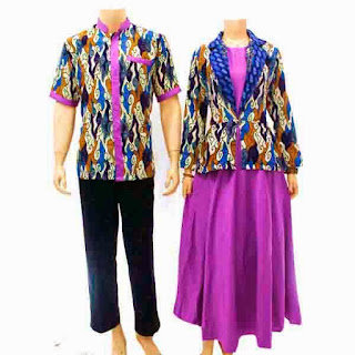 Foto Baju Batik Couple Palembang