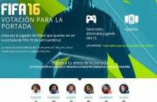 EA Sports abrió una votación online para elegir que jugador acompañará a Messi en la portada de FIFA 16
