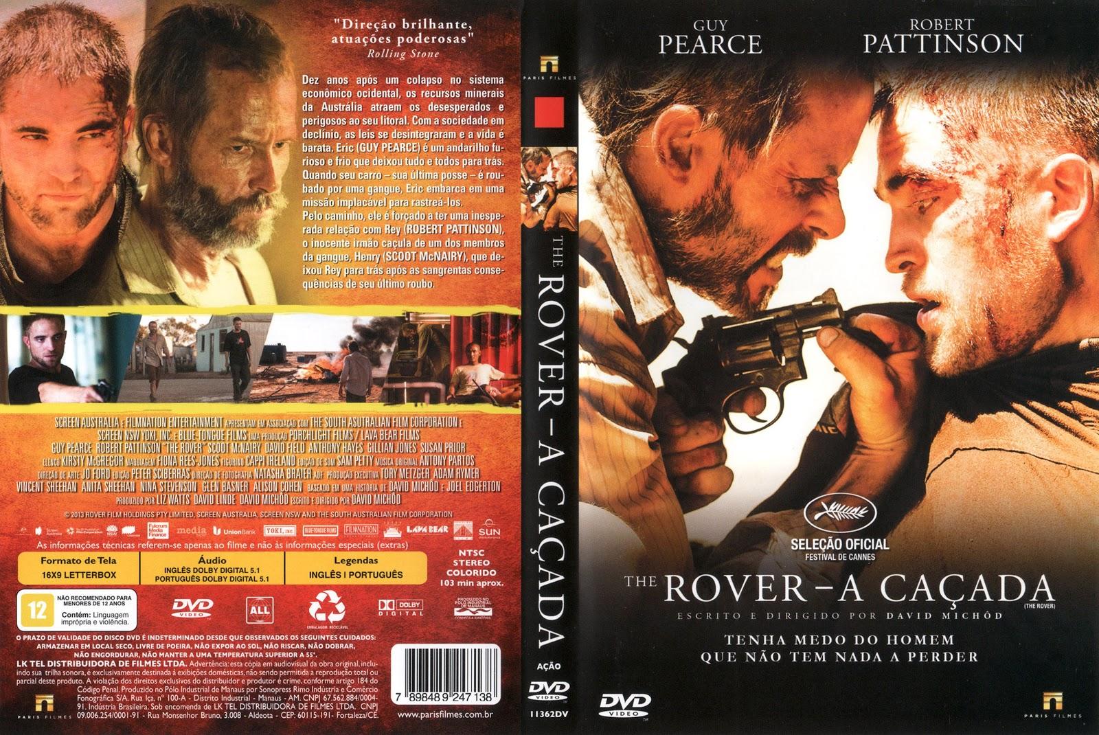 Capa DVD Rover A Caçada
