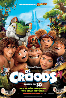 Capa Download   Os Croods – AVI Dual Audio Poster