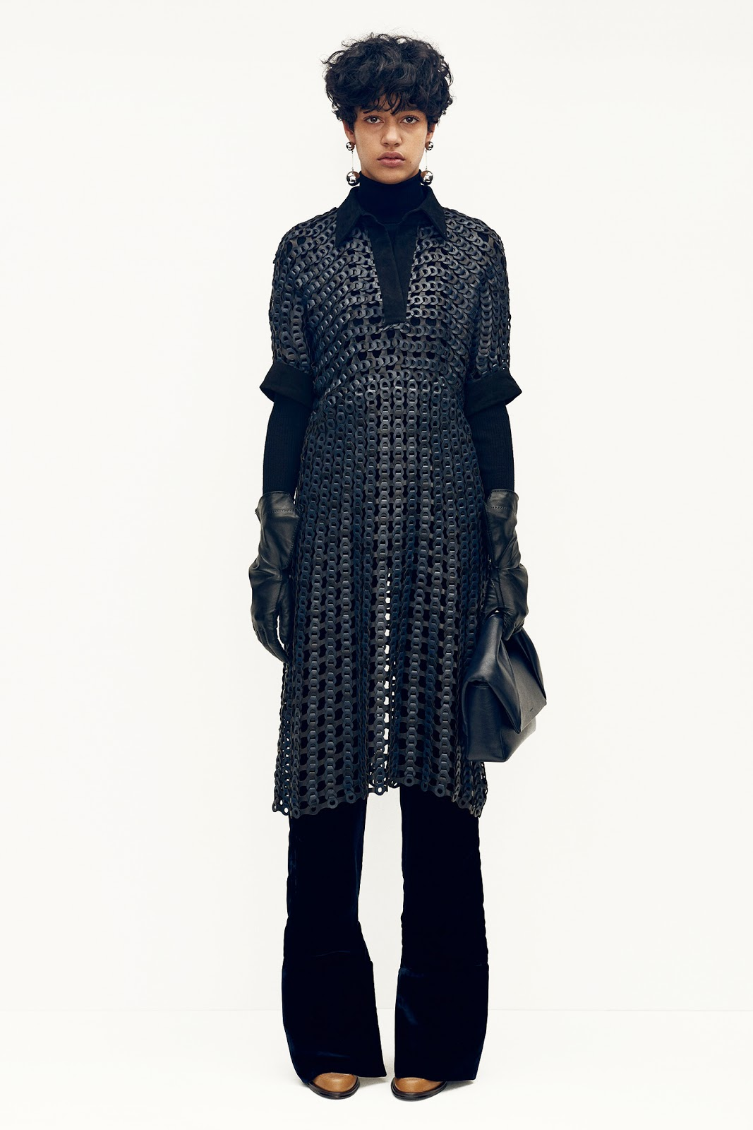 Damaris Goddrie by Scott Trindle | J.W. Anderson Pre-Fall 2015