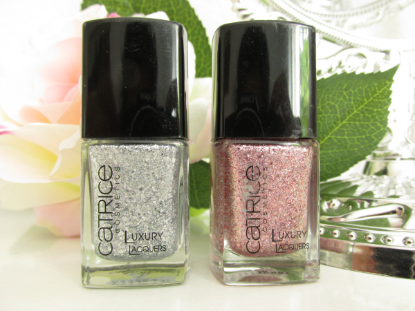 Catrice Luxury Laquers Million Brilliance - 01 It´s Showtime und 04 Lost`n`Roses