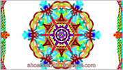 Floral shape Colouful lines art designs patterns pictures.