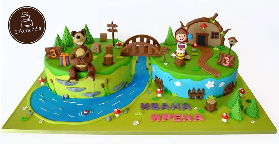 Masa I Medo Cake