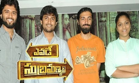 Yevade Subramanyam Movie Team Press Meet Photos