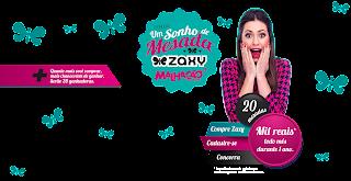 Promoção  Um sonho de Mesada  - Zaxy Malhação 20 anos