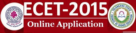 Telangana ECET-2015 Online Application