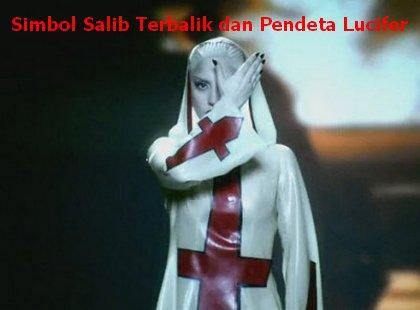 simbol satanisme pada lagu lady gaga