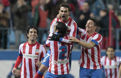Atletico Madrid vs Zaragoza