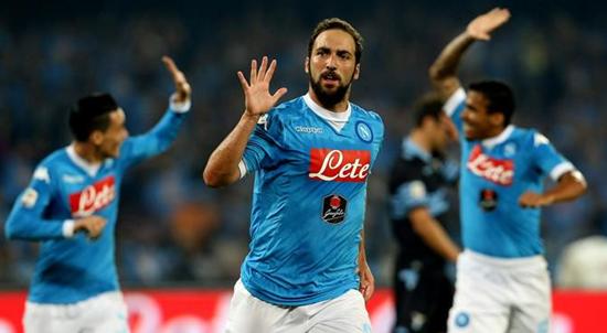 Napoli 5 x 0 Lazio - Campeonato Italiano(Calcio) 2015/16