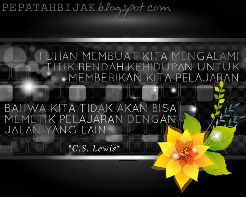 Kata Kata Inspiratif C S Lewis