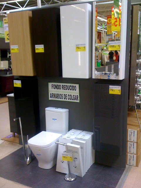 Armarios De Baño Fondo Reducido : Ba?o con ducha los muebles de para colgar fondo
