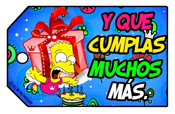 Imagenes de homero Simpson feliz cumpleaños - Imagui