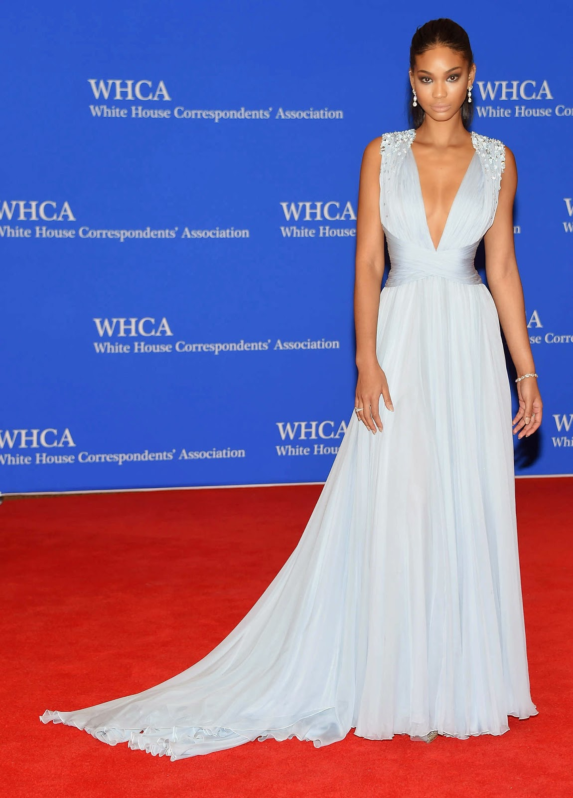 Chanel Iman – 101st Annual White House Correspondents' Association Dinner in Washington