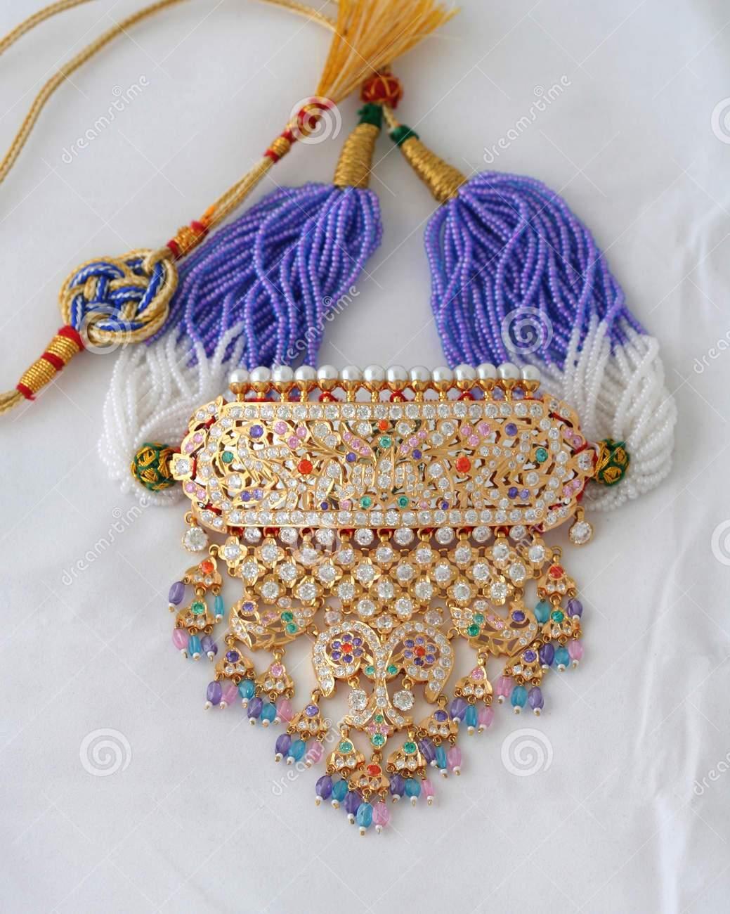 Rajputi Culture: Rajputi jewellery: \'Timaniya\'